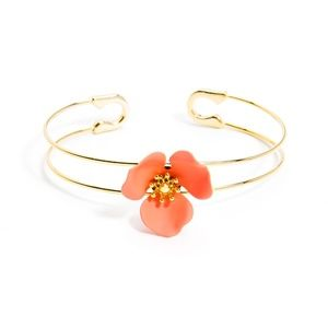 Jewelry - Blooming Cuff in Coral